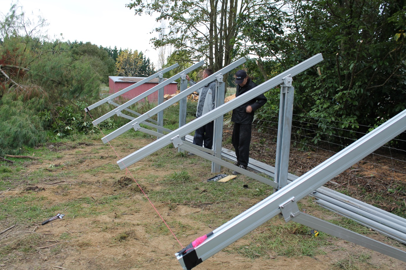 Solar Panel Mounting Frames Solar Electric Technology Nz