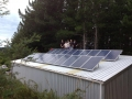 shed installation of 5 kw